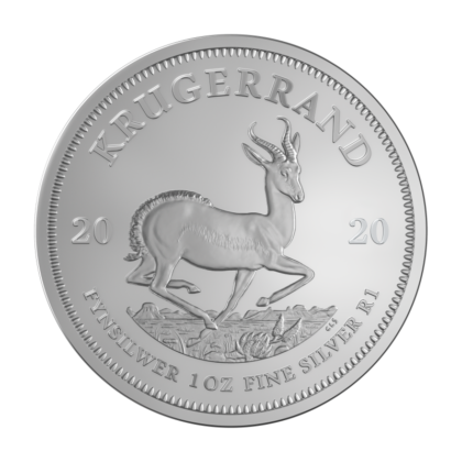 1oz Krugerrand Silver Coin Mixed Years