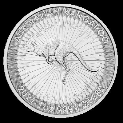 1 oz Kangaroo Silver Coin (2021)