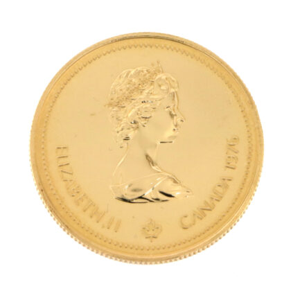 Canadian Olympic $100 Gold Coin